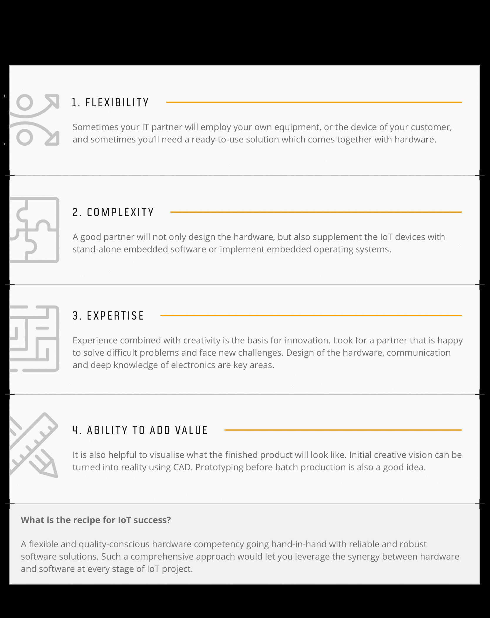 4 competencies IoT