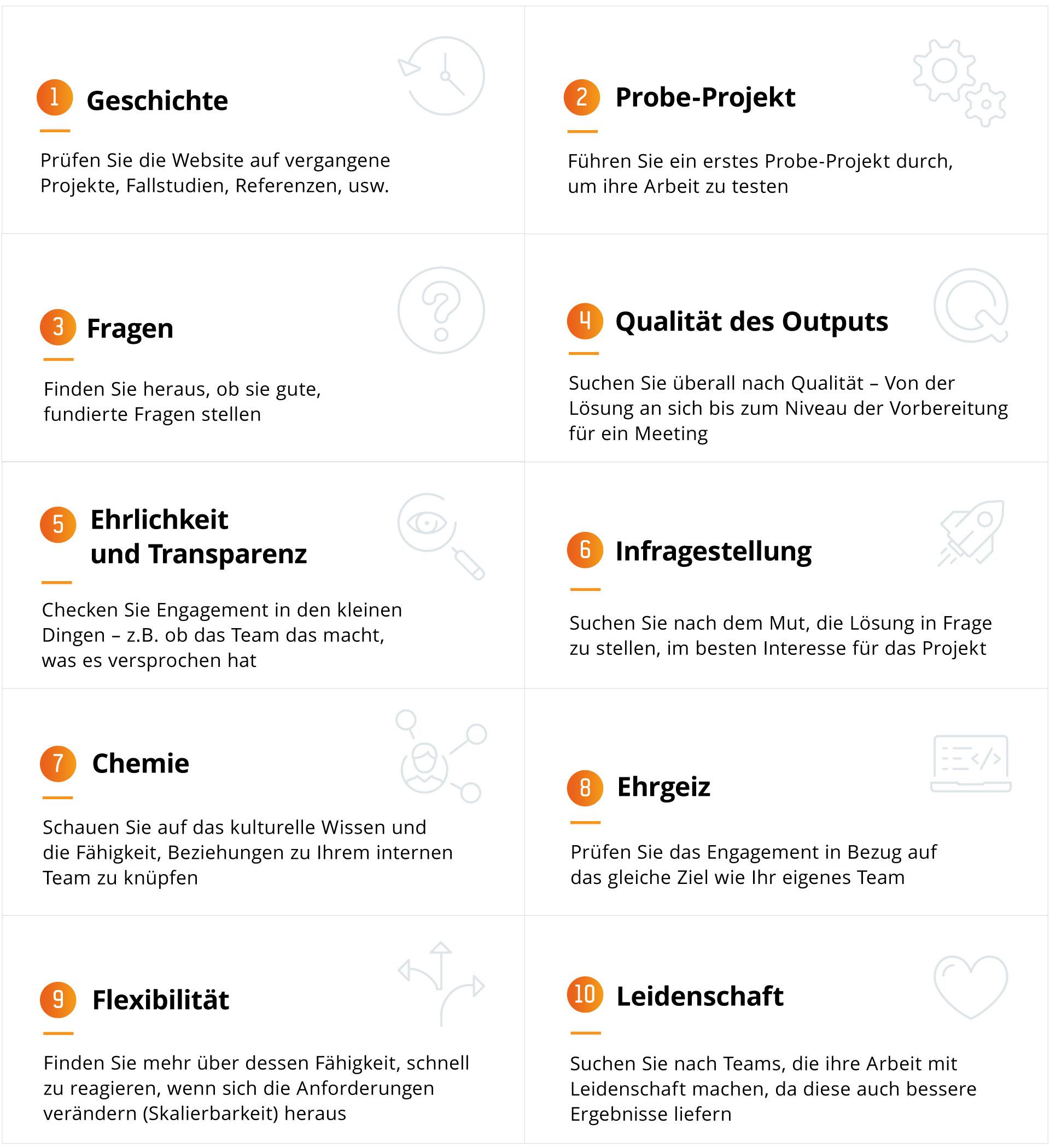 10 Anzeichen dafür, dass sich Ihr Technologie-Partner im Projekt engagiert
