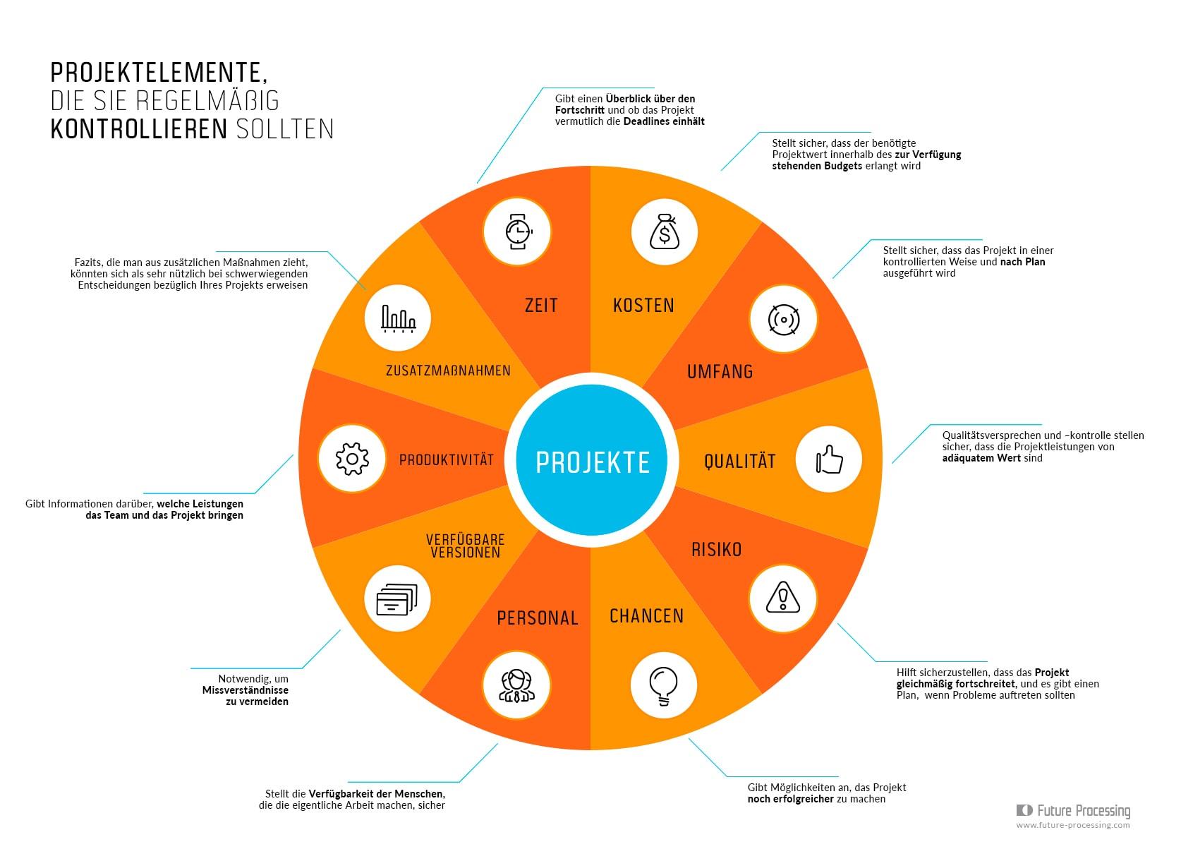2. 10 Elemente von IT-Projekten, die Sie regelmäßig überprüfen sollten