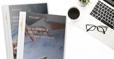 A PACK OF 2 SOFTWARE REQUIREMENTS SPECIFICATION TEMPLATES