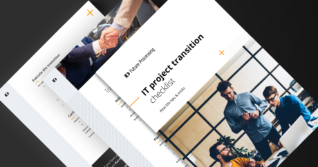 Whitepaper: IT project transition - real-life tips & tricks