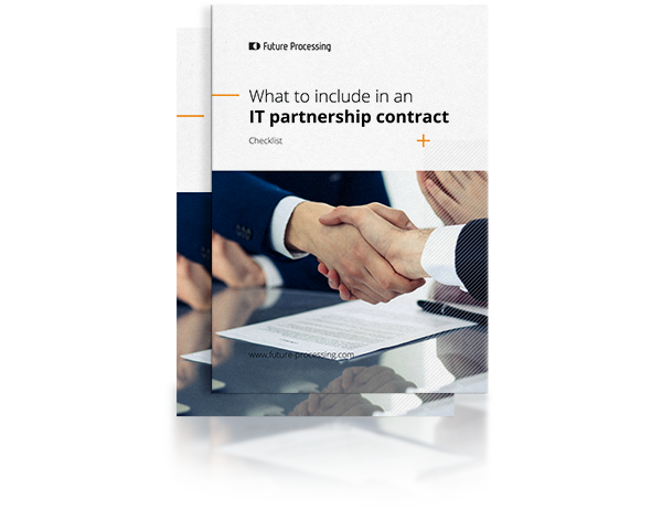 Checklist: What to include in an IT partnership contract