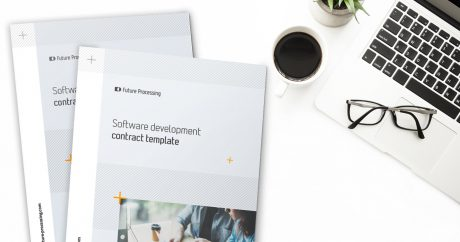 Custom software development contract template