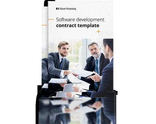 Custom software development contract template