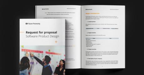 RFP-Vorlage für ein Softwareproduktdesign